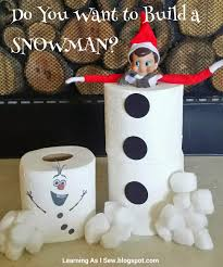 free printable elf on the shelf do you want to build a snowman
