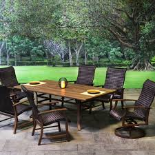 American Patio Furniture by Plank Woven Patio Dining Sets Patio Sets Outdoor Patio Furniture