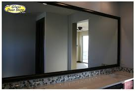 Bathroom Mirrors Houston Mirror Frames For The Bathroom Mirror The Glass Door Store
