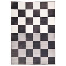 rug black and white rug ikea wuqiang co