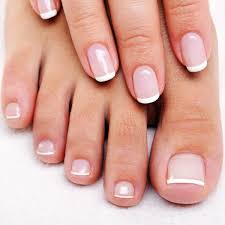 french nails with rounded tips the shape trend for this season
