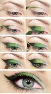 eye shadow nature green eye shadow makeup tutorial you