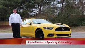 Yellow Mustang With Black Stripes 2015 Mustang Gt Performance Pack Triple Yellow Fully Loaded Youtube