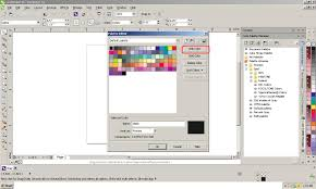 how to add a customized color palette in coreldraw x6 u2013 knowledge base