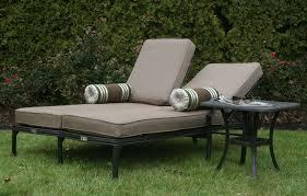 Aluminum Chaise Lounge Chair Design Ideas Building Double Chaise Lounge Outdoor U2014 Prefab Homes