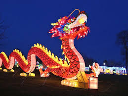the magical lights of the lantern festival
