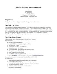 resume cna sample resume objectives 7 best images on tips cover
