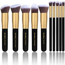 bs mall tm premium synthetic kabuki makeup brush set cosmetics foundation blending blush