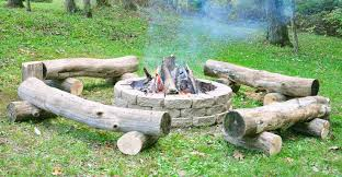 Firepit Benches Log Pit Benches For Backyard Outdoor Bench Design For