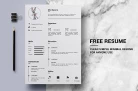 free minimalist resume designs 130 new fashion resume cv templates for free download 365 web