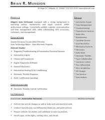 Sample Student Resume For Internship by Sample Resumes For Internships Resume For Your Job Application