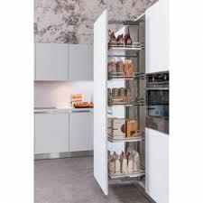 colonne de rangement cuisine colonne paniers rangement extractible accessoires de cuisine