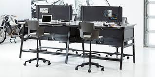Office Furniture Desk Bivi Modular Office Desk System Features Turnstone