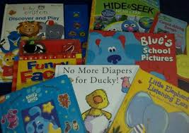 childrens picture books lot 8 sesame street blues clues baby