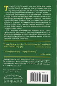 graf and sons garage door amazon com the life of sir arthur conan doyle 9780786712342