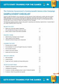 party event planning checklist template excel planner template