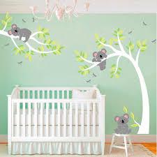 chambre bébé arbre stickers chambre bébé arbre chambre idées de décoration de