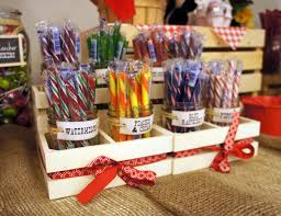 a farm fresh candy stand