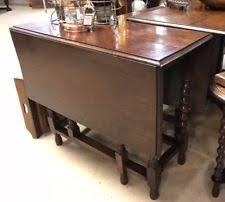 Oak Drop Leaf Table Antique Drop Leaf Table Ebay