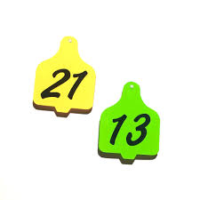 cow tag earrings set of 10 cow ear tag acrylic charm shape for bracelet necklace