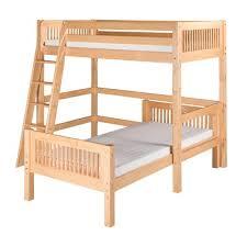 Harriet Bee Oakwood Twin LShape Bunk Bed  Reviews Wayfair - L shaped bunk bed