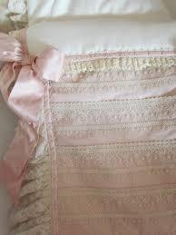 old rose crib bedding angela lace