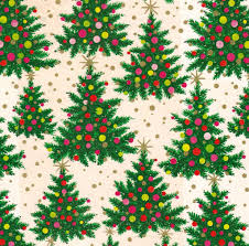 green christmas wrapping paper vintage christmas wrapping paper atomic trees david flickr