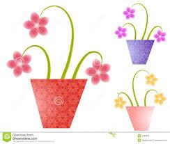 spring flower spring flower pots stock images image 2804064