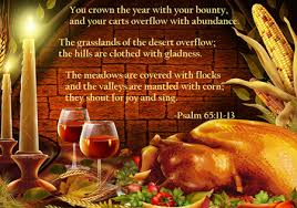 thanksgiving blessings to all energy