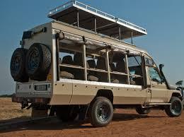 mitsubishi fuso 4x4 expedition vehicle toyota land cruiser 12 seater open 4x4 jenman logistics
