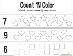 number worksheet kindergarten u0026 beach kindergarten number worksheets