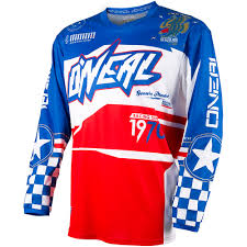 motocross gear ireland oneal 2017 new kids mx gear element afterburner red blue youth