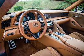 lexus lc 500 interior photos review 2018 lexus lc 500 canadian auto review