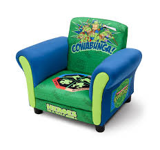 Ninja Turtle Bedroom Furniture by Amazon Com Delta Children Upholstered Chair Nickelodeon Ninja
