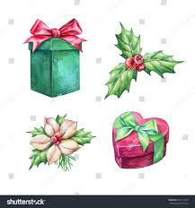 christmas holiday clip art gifts holy stock illustration 324111503
