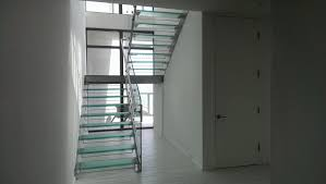 custom glass staircase in south beach bella stairs llc archinect