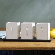 7 pc stackable kitchen caddy buffet display utensil organizer rack