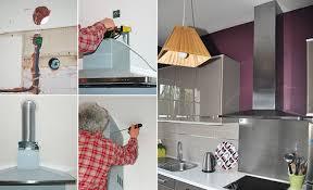 ventilateur de cuisine raccorder une hotte de cuisine à extraction