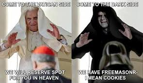 Side By Side Meme - come to the dark side memes