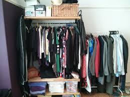 tips u0026 tricks entrancing industrial clothing rack for furniture