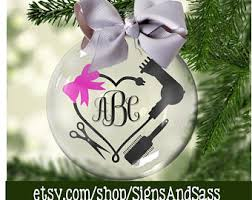 hairdresser ornament etsy
