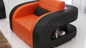 The Sofa Kings by V003 C 3 2 1 Seat Seater Modern Leather Lounge Sofa Set