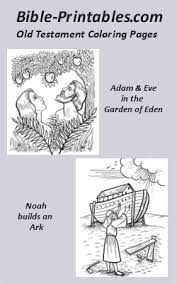 old testament coloring pages bible printables