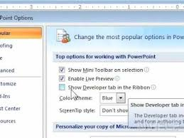 how to access the hidden developer tab on the office ribbon in