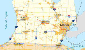 West Chicago Map by Interstate 96 Wikipedia