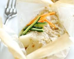 cuisiner le cabillaud recette papillotte de cabillaud
