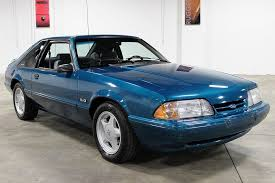 1993 mustang lx 10k mile 1993 ford mustang lx 5 0 bring a trailer