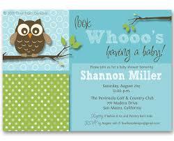 Owl Baby Shower Boy - owls baby shower invitations party xyz