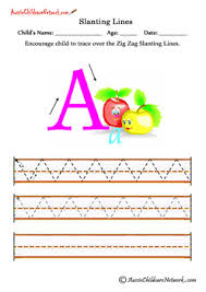 slanting lines worksheets up and down aussie childcare network