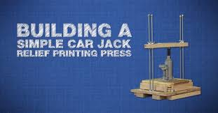 online impressions how to build your own printing press at home